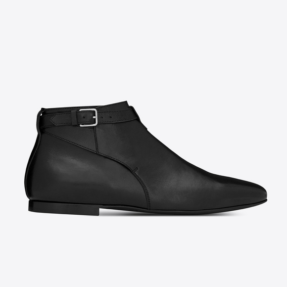 1fab52679c2 Yves Saint Laurent Shoes | Saint Laurent Jodhpur Low Cropped Boot ...